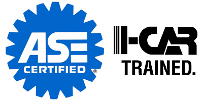 ASE Certified - I-Car Trained