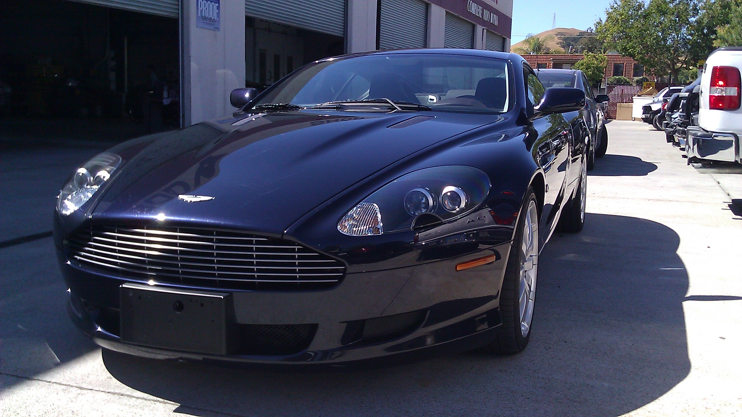 Aston Martin DB9 - Morgan Hill Auto Body