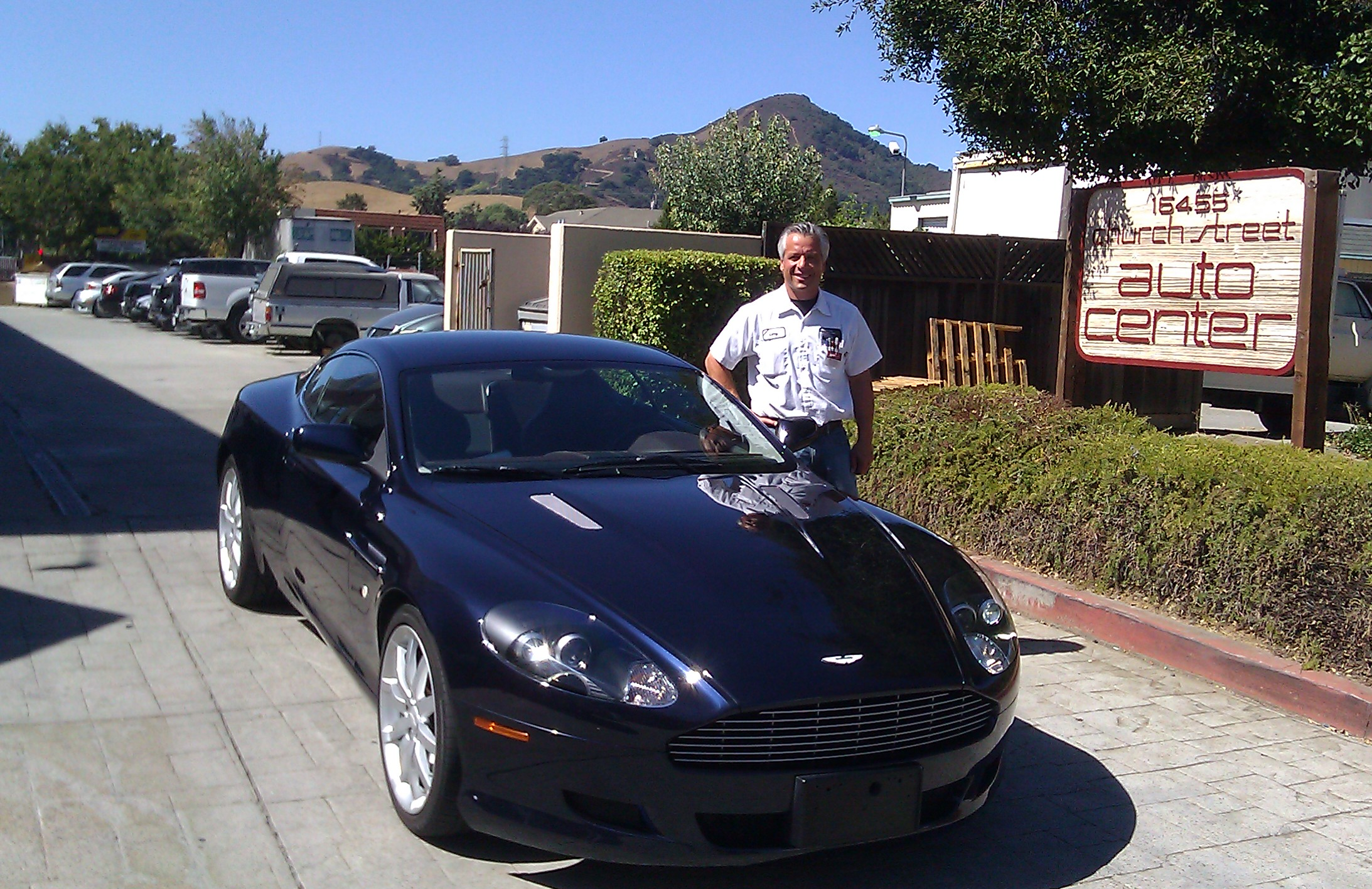Aston Martin DB9 - Morgan Hill Auto Body - Larry Biral