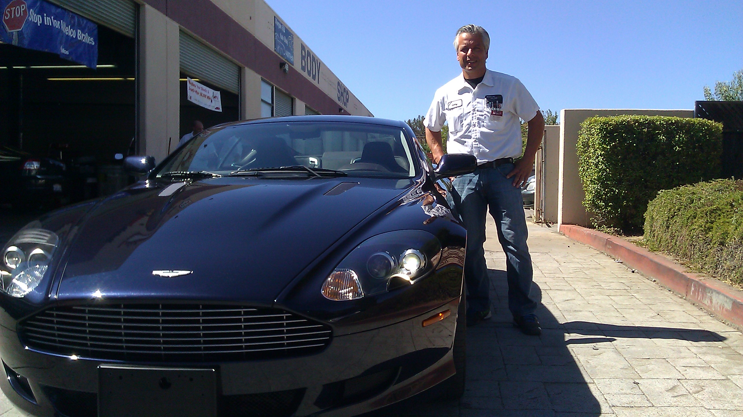 Aston Martin DB9 - Morgan Hill Auto Body Collision Repair