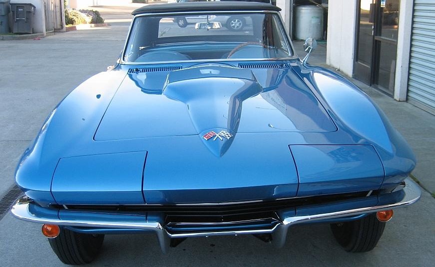 1965 Corvette - Classic Car Restoration - Morgan Hill Auto Body