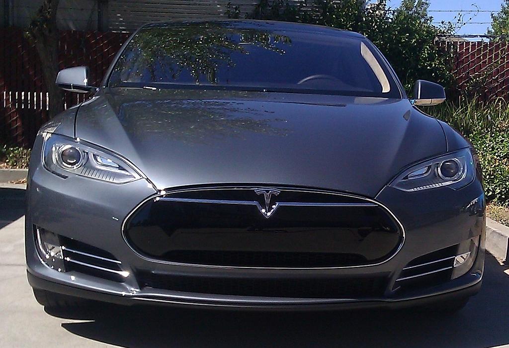 Bumper Repair - Tesla Model S - Morgan Hill Auto Body
